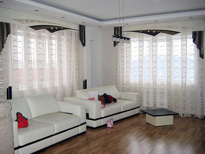 Дизайн штор для зала и гостиной фото